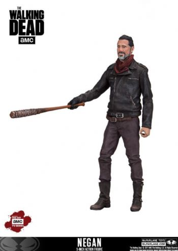 "McFarlane Toys Walking Dead TV Series Negan 5"" Exclusive Figure"
